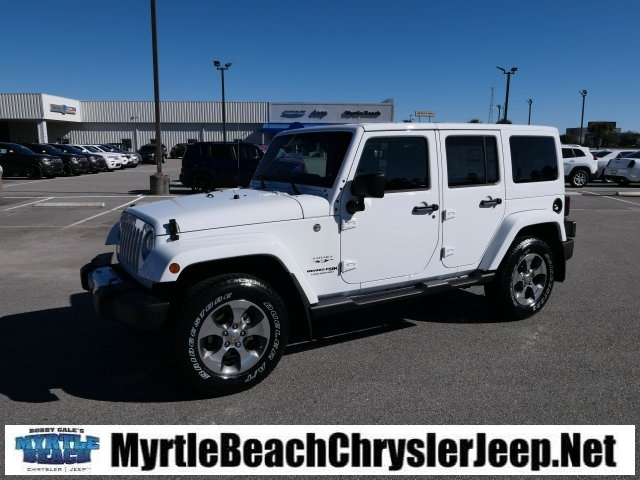 New 2018 Jeep Wrangler Jk Unlimited Sahara Sport Utility