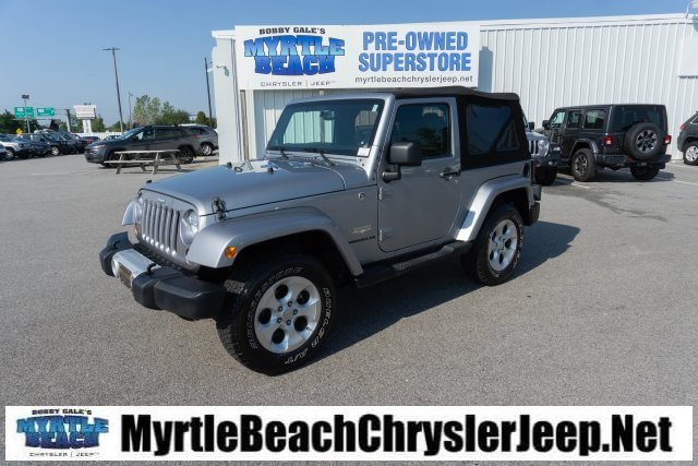 Certified Pre Owned 2013 Jeep Wrangler Sahara