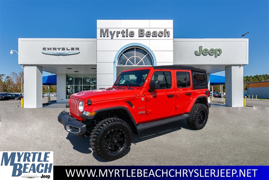 Jeep Certified Pre Owned >> Certified Pre Owned 2018 Jeep Wrangler Unlimited Sahara 4d Sport