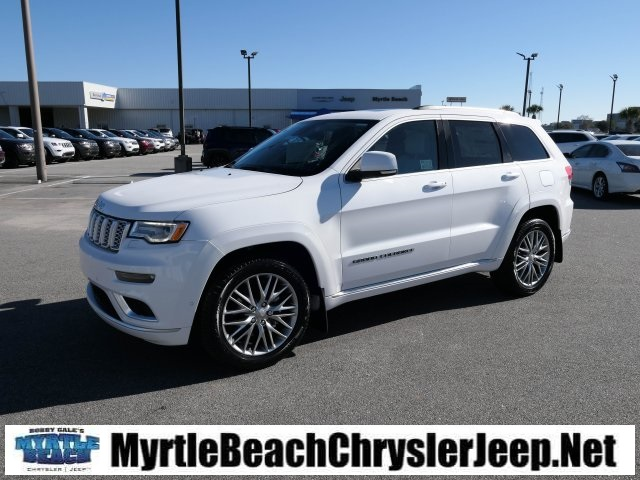 new 2018 jeep grand cherokee summit sport utility in myrtle beach j1025 myrtle beach chrysler. Black Bedroom Furniture Sets. Home Design Ideas